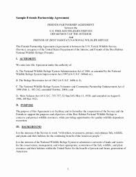 Contract Agreement Template Between Two Parties Agreement Letter Between Two People Parties Template