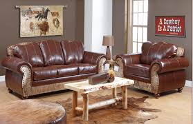 Leather Couch Living Room Design Living Room Beautiful Western Living Room Sets Western Leather