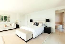 White Bedroom Paint Modern White Bedroom Black Lamps White Painted Bedroom  Furniture With Oak Tops .