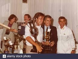 Gründer der italienischen Zeitschrift Tennis Oggi Sergio Rossi, Paolo  Metello und Alberto Lazzarino, 1980er Jahre Stockfotografie - Alamy