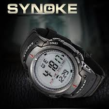 mens led digital date alarm light 5atm waterproof sports watch image is loading mens led digital date alarm light 5atm waterproof
