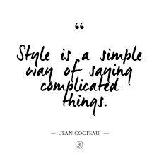 Quotes About Fashion Style And Beauty Best of Kara Brownlee On Twitter Fashion Quote Friday Style Is A Simple