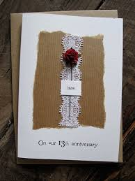 romantic lace card