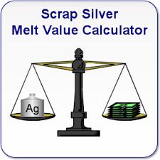 Sterling Silver Melt Value Calculator