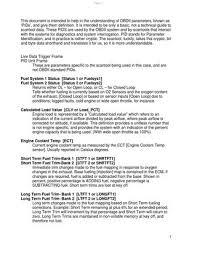 Obd Ii Code Chart On Board Diagnostic Ii Obd Ii Obd 2 By R Gustavo Issuu