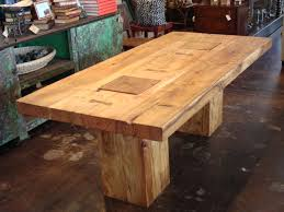 wood rustic dining room tables