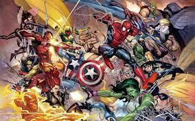 Hình nền : Anime, Siêu anh hùng, truyên tranh Marvel, Người Sắt, Đội trưởng  Mỹ, Bà Marvel, người nhện, Truyện tranh, Tầm nhìn, Ngọn đuốc của con người,  Fantastic Four, Cô ấy