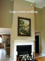 fireplace crown molding great room moldings stone brick moldin crown molding fireplace
