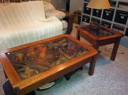 william herrick fish coffee table end