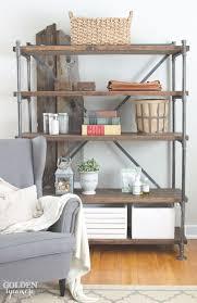 metal rod shelves