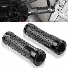 "1 Pair Handlebars <b>Motorcycle Parts Hand</b> Bar <b>Grip</b> 7/8"" 22mm ..."