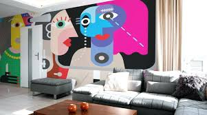 wall murals for living room. Unique Wallpaper Murals Wall Custom Removable Living Room Wallpapers For O