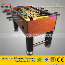 Miniature Wooden Foosball Table Game Indoor Football Table Soccer GameAmusement Children Football 28