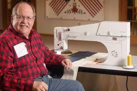 George longarm quilting machine | APQS & George Adamdwight.com