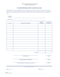 Invoices Self Employed Invoice Template Templates Resume Unnamed