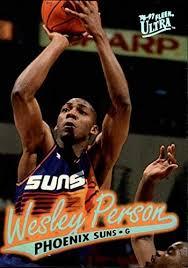 Amazon.com: 1996-97 Ultra #88 Wesley Person NBA Basketball Trading Card:  Collectibles & Fine Art