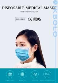disposable surgical mask / 3-ply / <b>non</b>-woven / <b>non</b>-sterile - Ikbolo ...