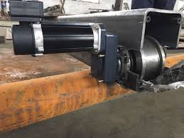 hollow shaft european end carriage with kone motor