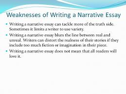 elements of a narrative essay ppt video online weaknesses of writing a narrative essay