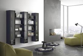 Modular Living Room Cabinets Modular Shelf With Display Cabinet For Modern Living Idfdesign
