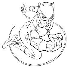 Small Picture Catwoman Coloring Pages Coloring Pages
