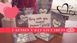 what i got my for v day 5 senses gift ideas