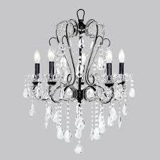 unique chandelier lighting. carousel black fivelight chandelier unique lighting