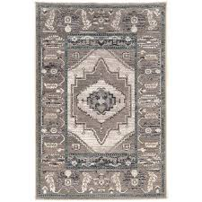 se rug vintage 9 x se power loomed rug in gray serapi rug gallery north santa