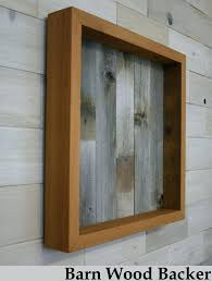 reclaimed cedar shadow box x 3 with open face 20x20 20 24 frame wood boxes 20x20 shadow box