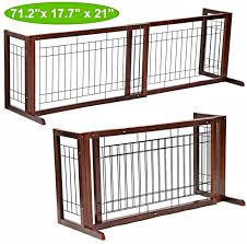 wood pet gates indoor good this pet gate es with swivel feet
