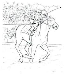 Pictures Of Horses To Color Barbie Horse Coloring Page Circus Horses