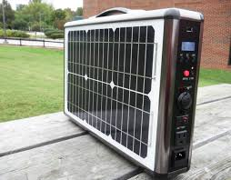 solarbriefcase is an amazing portable generator designed and assembled by north ina based company linortek one of the most portable solar