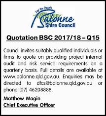 Quotation Bsc 2017/18 – Q15 | Tenders (Notices) | Notices | Roma ...