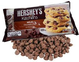 hershey chocolate chips.  Chocolate Throughout Hershey Chocolate Chips Y
