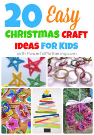 50 Awesome Quick And Easy Kids Craft Ideas For ChristmasChristmas Toddler Craft Ideas