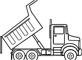 coloring pages garbage truck garbage truck coloring pages to print dump pictures color construction trucks page