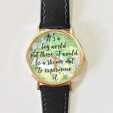 Watch Quotes Magnificent Travel Quotes Watch Women Watches Leather Watch Men's Watch