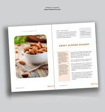 Recipe Template Word Eye Catching And Editable Recipe Template For Word Used To