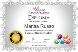 forensic healing online diploma certificate forensic healing  obtain insurance in certain parts of the world we help you establish your client base by listing your profile out cost on our forensic healing