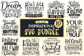 Download them for free and start now your diy projects with these free vectors. Inspirational Design Bundle Graphic By Designfarm Creative Fabrica In 2020 Design Bundles Svg Design Svg