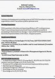 beautiful sap mm testing resume gallery simple resume office