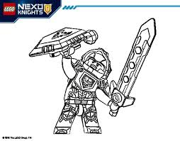 Small Picture Clay Nexo Knights coloring page Coloringcrewcom