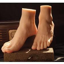 <b>2019</b> Newest Big Style <b>Male</b> Mannequin Foot <b>Silicone Realistic</b> Foot ...
