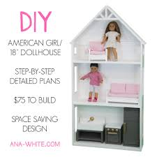 smaller three story dollhouse for 18 and american girl dolls