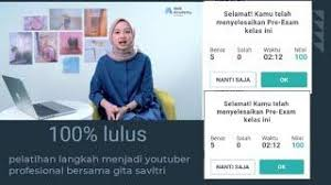 Prepare live from top educators with comprehensive, structured and crash courses along with practice section for bank exams on unacademy plus. Kunci Jawaban Exam Dan Pre Exam Prakerja Skill Academy Langkah Menjadi Youtuber Profesional