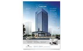 Downtown Apartment Flyer Template Design