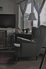ikea strandmon armchair wing chair home deco
