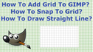 Home how to how to draw a straight line in gimp. Gimp Grid Tutorial L How To Add Render Grid In Gimp Youtube