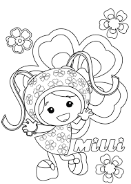 Small Picture Free Printable Team Umizoomi Coloring Pages For Kids