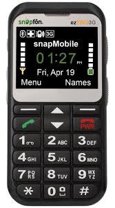 Snapfon Eztwo Senior Cell Phone Easy